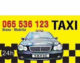 MARKETING-TAXI TATIĆ BRANO