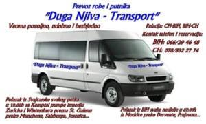 DUGA NJIVA - TRANSPORT