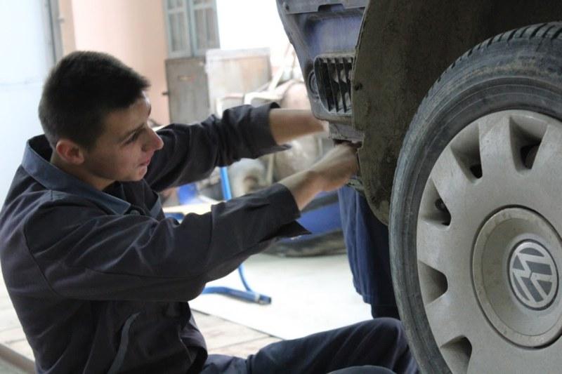 M. Obnovljena radionica srednjoškolskog centra u Doboju
