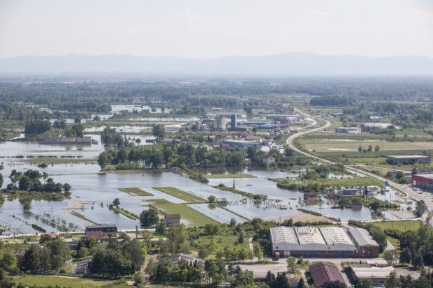 B Majske poplave iz 2014. godine zahvatile su i Orašje.
