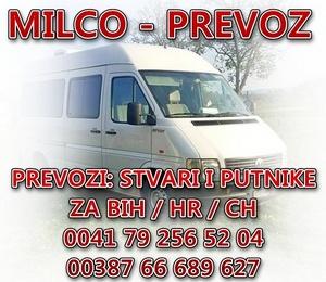 MILCO PREVOZ BANNER 300px