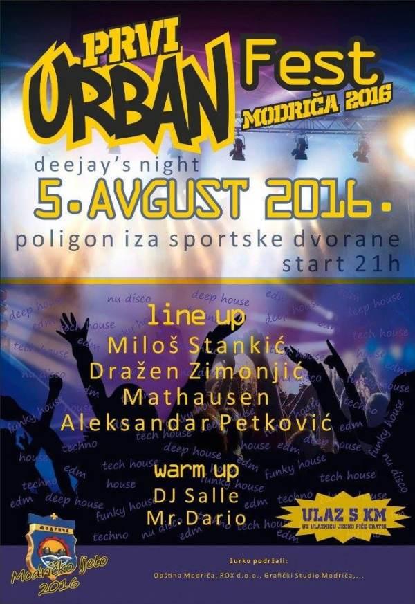 05.08.2016. URBAN FEST