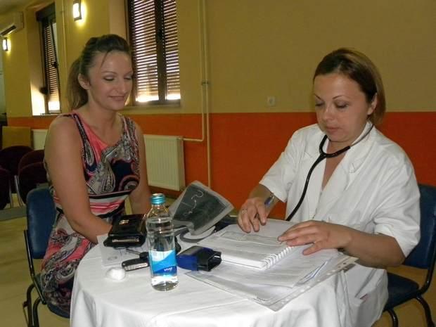Alenka Ilovčević i Dr Tatjana Žigić, transfuziolog