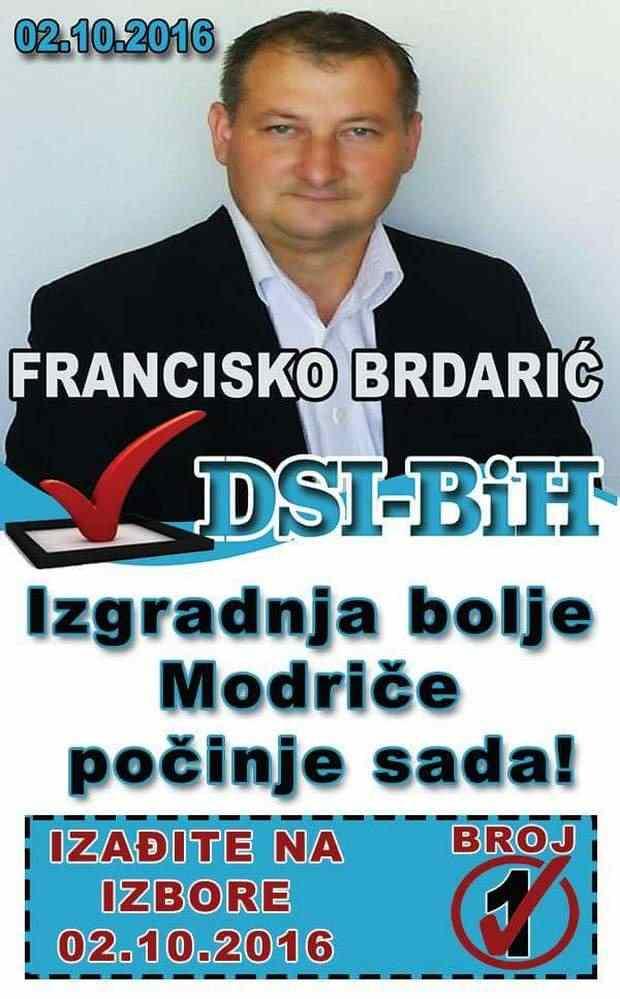 FRANCISKO BRDARIĆ  - DSI BIH / 1.