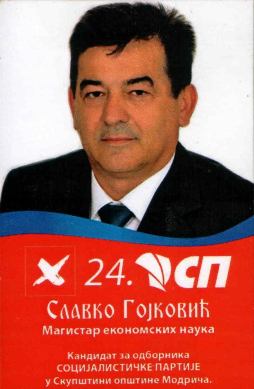 SLAVKO GOJKOVIĆ - SP / 24