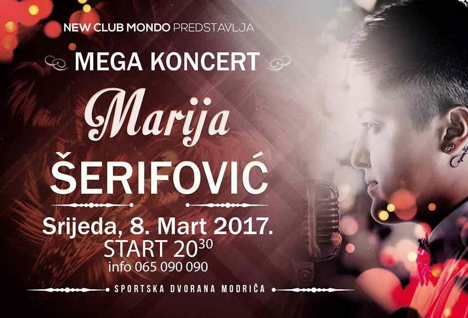 MARIJA ŠERIFOVIĆ - MEGA KONCERT