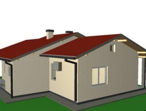 Idejno rješenje tipske kuće