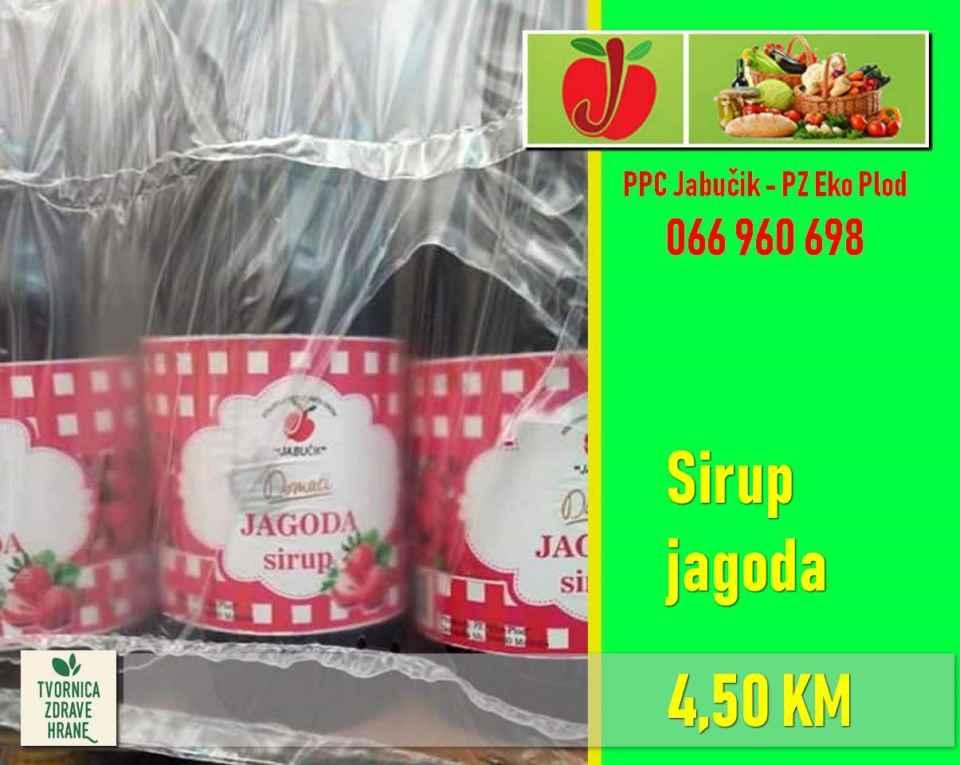 Sirup jagoda 4,50 KM