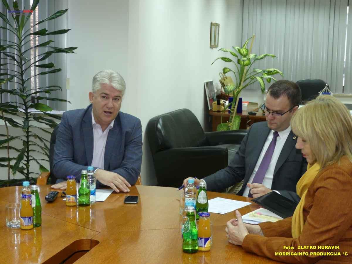 Pomoćnik ministra za sport u posjeti opštini Modriča (1)