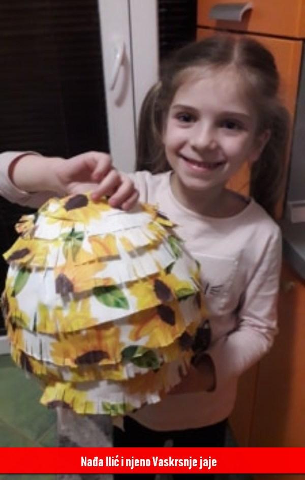 Nađa Ilić i njeno Vaskrsnje jaje