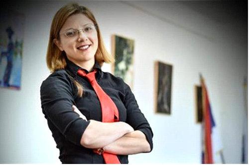 Maja Vidović, predsjednik Kluba istoričara