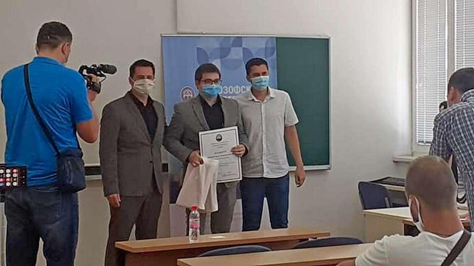 Dimitrije Živanović student godine (1)